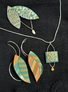 Sandra McCaw  http://sandramaccaw.com  Sandra currently lives in Massachusetts and works in the medium of polymer clay jewelry. She developed the caning process that is known as the McCaw cane and her jewelry has been exhibited internationally and extensively published. Her pieces, which are, or have been for sale in the Currier Museum of Art's Museum Shop, Manchester, NH, range from $32-$130.