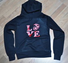 LOVE symbol US Navy support sweater SIZESSL comes in by SOTAo1, $30.00