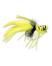 Popper flies are one of the most effective and popular flies for bass fly fishing.