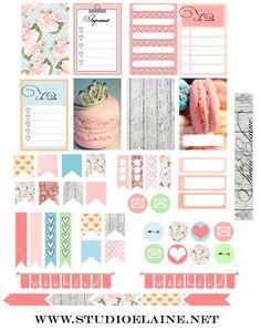 Planner & Journaling Printables ❤️ Free Planner Stickers | Studio Elaine