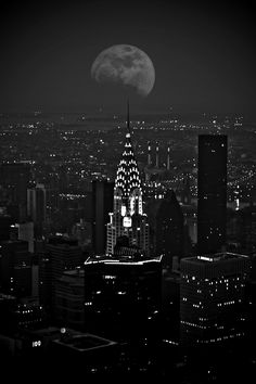 Chrysler Building. The city is pretty at night, but nothing compares to nature's beauty.