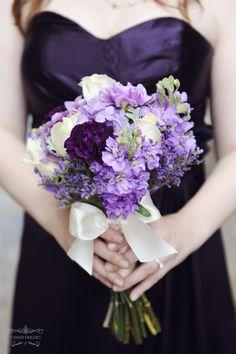 bouquet, purples