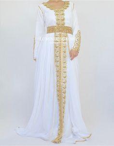 Caftan Dubai 'Jasmine' - Lumineuse Robe