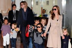 Brad Pitt pide la custodia compartida de sus hijos con Angelina Jolie