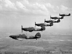 """warhistoryonline: """"New on War History Online: Last of the Few: One of the final surviving Battle of Britain pilots dies aged 98 - leaving incredible archive of aerial photographs . Navy Aircraft, Ww2 Aircraft, Military Aircraft, Luftwaffe, Fighter Pilot, Fighter Jets, Hawker Hurricane, Aviation Image, Airplane Art"""