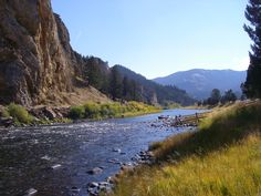 big hole river - Wise River Montana I caught lots of fish out of here