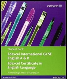 Shop for Edexcel International Gcse English A & B Student Book With Activebook Cd. Starting from Choose from the 5 best options & compare live & historic book prices. Gcse English, English Classroom, English Online, Always Learning, English Language, The Fosters, Online Courses, Good Books, The Book