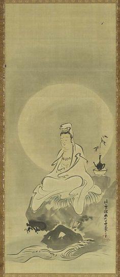 White-robed Kannon, the Bodhisattva of Compassion   Museum of Fine Arts, Boston