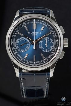 Reference 5170P chronograph from Patek Philippe