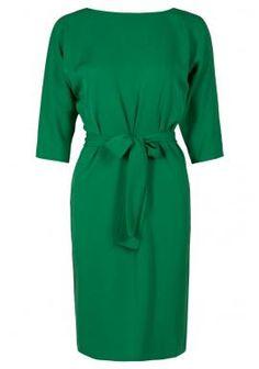 Green Diane Von Furstenberg dress