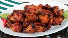 Spice Roast Chicken Wings - Steven and Chris