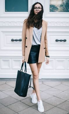 Street style look Be