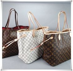 Louis Vuitton Neverfull Handbags I want every single one of them ❤️
