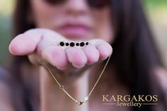 Inspired of geometric forms and exquisite materials we found a method to bring to life the modern approach of statement jewelry combined to fashion lines. Simple Jewelry, Modern Jewelry, Fine Jewelry, Jewelry Making, Real Gold Bracelet, Jewelry Model, Geometric Jewelry, Silver Diamonds, Black Enamel