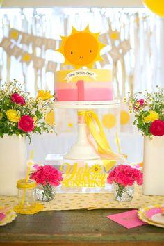 You Are My Sunshine Birthday Party on Kara's Party Ideas   KarasPartyIdeas.com (22)