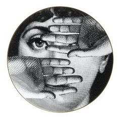 Fornasetti Plates I love all of my plates from my husband and also all the other pieces he gave me #Love,#Lord # Loyalty