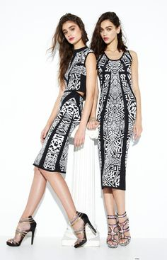 Runway and Beauty   Taylor Marie Hill and Zhenya Katava - Nicole...
