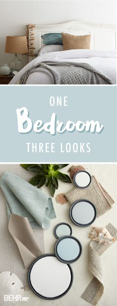 One Bedroom, Three Looks