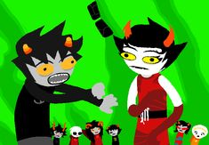 Karkat really doesn't want those glasses