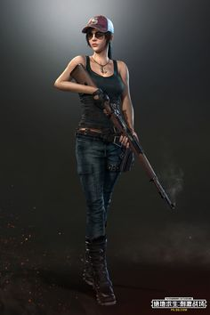 Hot Girl Online Game Playerunknown S Battlegrounds Game 480x800
