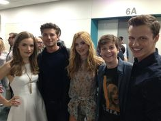 Willa Fitzgerald, Amadeus Serafini, Bella Thorne, John Karna, and Connor Weil