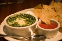 I try to avoid using To Die For as a description but Houston Steak Houses baked Spinach and Artichoke Dip is the best of the best! Houstons serves it hot with tortilla chips veggies sour cream and salsa. Recipe courtesy of Houstons Restaurant. Healthy Vegetable Recipes, Good Healthy Recipes, Low Calorie Recipes, Vegetarian Recipes, Dip Recipes, Appetizer Recipes, Dinner Recipes, Appetizers, Copycat Recipes