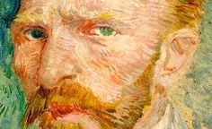 Mostra sul post impressionismo alla #GranGuardia di #Verona. Autoritratto (Vincent Van Gogh, 1887).