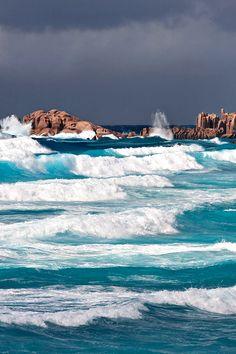 La Digue, Seychelles.  The Rhythm of the Ocean by Valery Sherbina