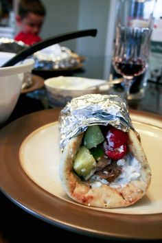 Crockpot Gyros - Food & Whine