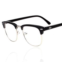Wholesale 2013 Brand Designer Glasses For Men Women Half Frame Round Retro Glasses Classic Optical Vintage Eyewear Oculos $5.72