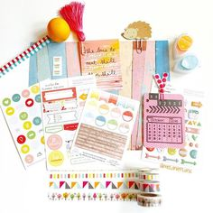 """Getting ready for week 41 with pieces from #theplannersocietykit #tpskit and target washi."" Photo taken by @melanieplans on Instagram, pinned via the InstaPin iOS App! http://www.instapinapp.com (10/04/2015)"