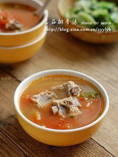 蕃茄排骨汤