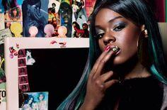 Azealia Banks -Dazed & Confused mag 2012