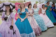 Azalea Belles at 2015 Queen's Coronation Wilmington, North Carolina
