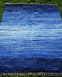 Large+Handwoven+rag+rug++6'+x+5'+'custom+colour++by+Gunaspalete,+$130.00