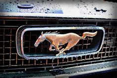 Classic Car News – Classic Car News Pics And Videos From Around The World Blue Mustang, Mustang Girl, 1966 Ford Mustang, Car Ford, Gt Mustang, Classic Car Garage, Ford Classic Cars, Mustang Tattoo, Car Badges