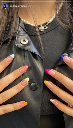 Aycrlic Nails, Swag Nails, Hair And Nails, Grunge Nails, French Manicure Nails, French Manicure Designs, Glitter Nails, Stylish Nails, Trendy Nails