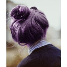 Shades of Pink, Purple and Green Hair Colours ❤ liked on Polyvore featuring accessories and hair accessories