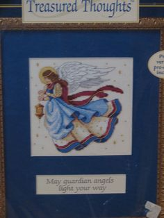 Dimensions Counted Cross Stitch Kit Angels Light Your Way James Himsworth 72430 #Dimensions