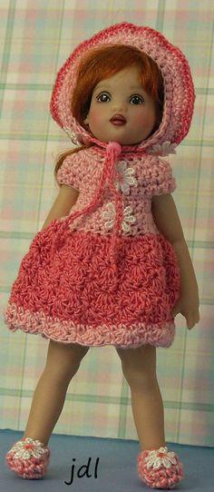 """Daisy Sweet for NEW TINY [6.5""""] Riley Kish by JDL Doll Clothes #KishCompany"""