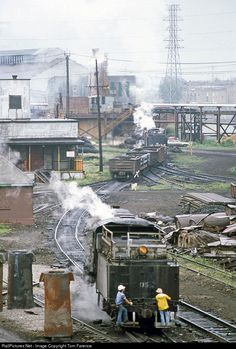 RailPictures.Net Photo: NSW 76 Northwestern Steel & Wire Steam 0-8-0 at Sterling, Illinois by Tom Farence