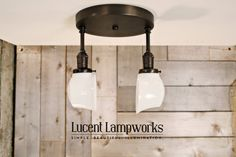 Ceiling Lighting Twin Series with Exposed par lucentlampworks