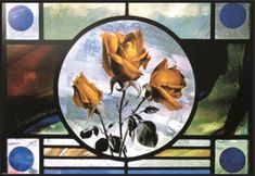 """Stained Glass Artist Albinas Elskus and his """"Forbidden Fruits"""" - Stasys Gostautas"""