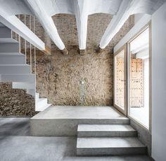 DataAE . Rehabilitación de una casa entre medianeras . Sant Feliu de Llobregat (5)