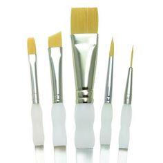 Soft Grip Brush Set Beginner 5