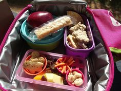 Things to consider when packing toddler lunchboxes....