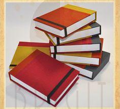 Handmade book / bookbinding - (Office notebook) - Handbound book - Handbound…
