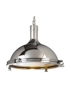 Chrome  Ceiling Lamp by 100 Essentials at Gilt