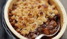 Crumble poires & Nutella