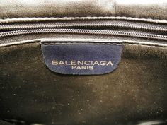 L'oiseau Acessórios Vintage: Bolsa Balenciaga Vintage Anos 60/70